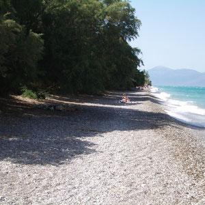 Loca-Beach, Strand bei Diakopto