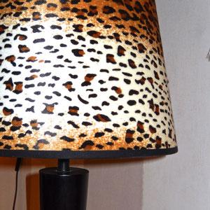 Abat-jour léopard