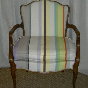 fauteuil bayadère