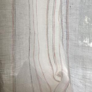 rideau lin léger grande largeur
