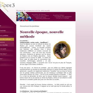 Exode3 - Marketing écclesiastique