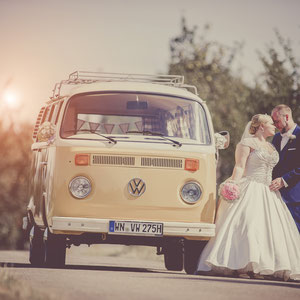 Hochzeitsauto VW T2 Oldtimer mieten