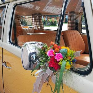 Blumen VW T2 Bulli