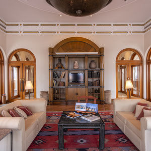 The Oberoi Beach Resort - Sahl Hasheesh, Egypt - The Library @ Christian Redermayer Photography