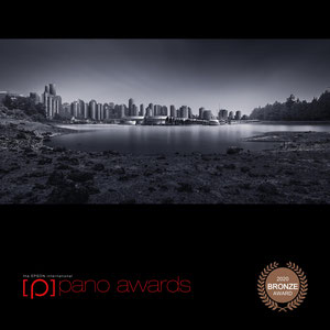 """The Epson International Pano Awards 2020: The image """"Vancouver - Coal Harbour"""" achieved the Bronze Award"""