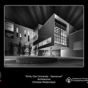 Finalist POY: Annual Awards Event of the Professional Photographers of Canada - British Columbia: Honourable Mention - Image Emily Carr University - Vancouver
