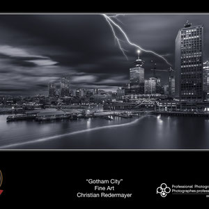 Finalist POY: Annual Awards Event of the Professional Photographers of Canada - British Columbia: Image Gotham City