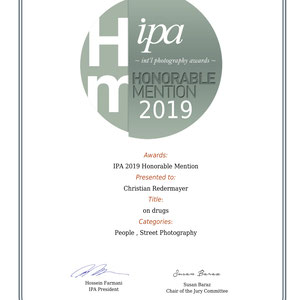 2019 International Photography Awards - Honorable Mention