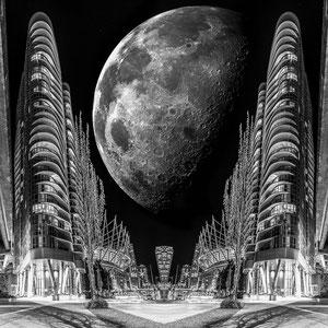 "Award winning image Vantropolis- ""Silver Moon"" @ Christian Redermayer Photography"