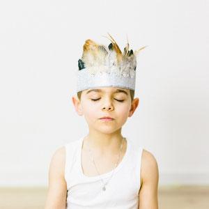Portrait garçon - Photographe de famille à Nantes au home studio Orlane Boisard