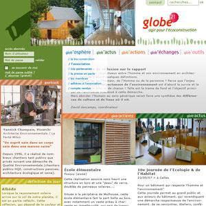 Globe21, association en éco-construction