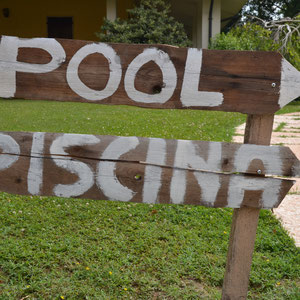 B & B near Mantua with swimming pool, private bathroom, breakfast, motocross mantova, parking, cheap