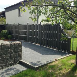 Zaun WPC, Gartengestaltung Gelbrich - Wuppertal