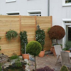Zaun Douglasie, Gartengestaltung Gelbrich - Wuppertal