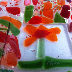 Detail einer WünscheSchale- wunderschöne, abstrakte Blume. Es ist wirklich kinderleicht!!