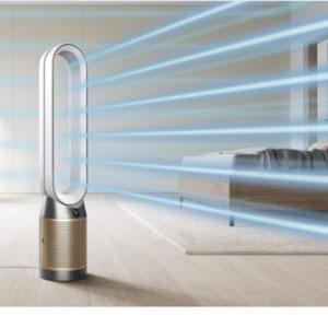 Luftreiniger mit Kühlung