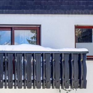 Balkon Ferienwohnung Astenperle