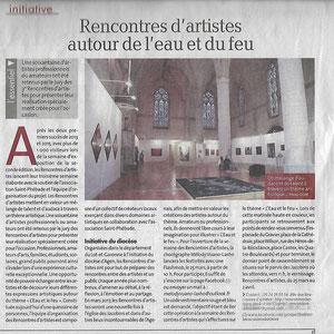 """""""La dépêche"""" : 25 janvier 2017"""
