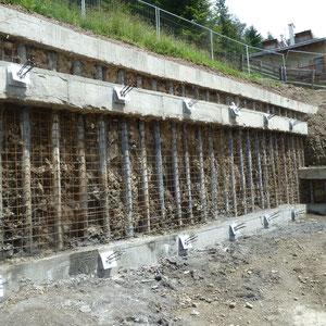 Geologische Bauleitung, u.a. bei Aushub & Böschungsverbau