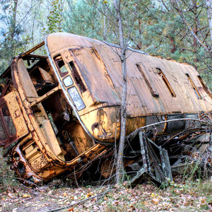 Forgotten Vehicles of Prypjat and Chernobyl