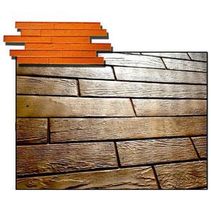 madera tarima nogal por hormigon