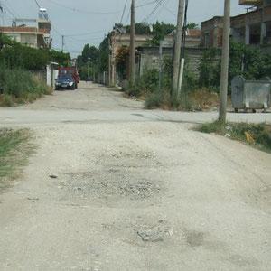 Fier - Nebenstraße