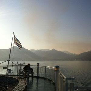 Abschied von  Griechenland