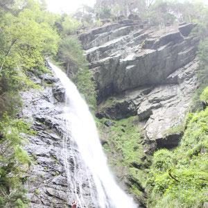 Spektakulärer Wasserfall zur Ahr