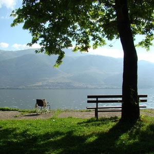 Frühstück am See von Ionannina