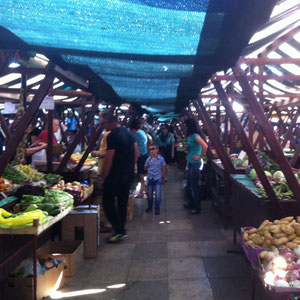 Gemüsemarkt in Zadar