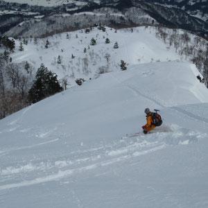 上部はいい雪が:Y森