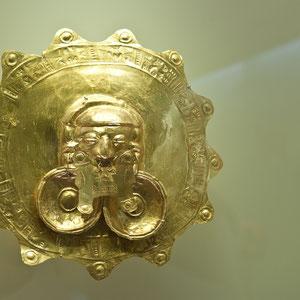 Goldschatz der Inka aus dem Goldmuseum in Bogotá