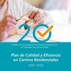 PLAN DE CALIDAD Y EFICIENCIA DE LOS CENTROS RESIDENCALES