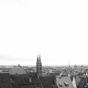 ... über Nürnberg