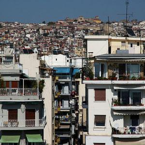 Thessaloniki, Blick vom Weißen Turm