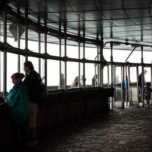 Blick vom Ještěd, Liberec, Tschechien