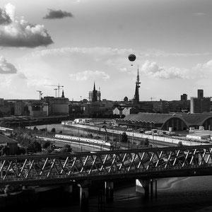 Hamburg aus dem 15. Stock