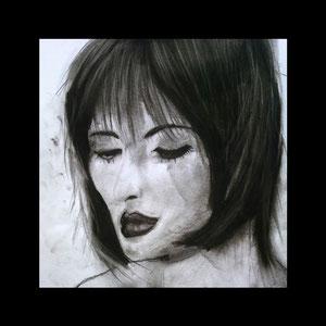 Young Geisha  40x40 cm   Preis: 100 Euro