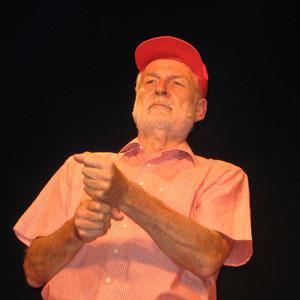 Konrad Kramer als Angler