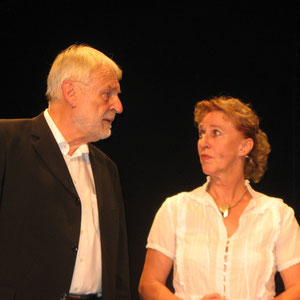 Konrad Kramer und Michaela Ecker als Richterräte