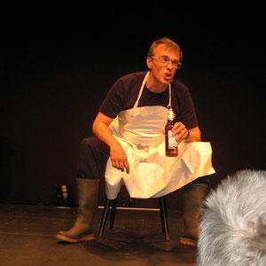 Jochen Schaupp als Schlachtergeselle