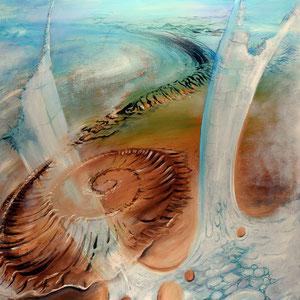 Der Saal; 2007; 150 x 100 cm; Öl auf Leinwand