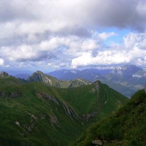 Trélod ( Bauges, 73) : vers le nord - AU BOUT DES PIEDS