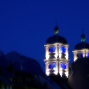 Chaberton : clocher de Briançon - AU BOUT DES PIEDS