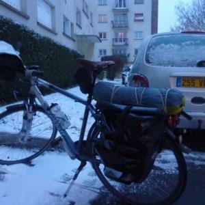 Rando cyclo, l'Ourcq : départ - Au Bout des Pieds
