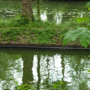 Canal du Loing : le canal et la rivière Loing - Au Bout des Pieds