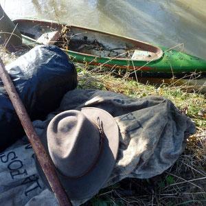 l'Aubetin, le bateau a dormi là - AU BOUT DES PIEDS