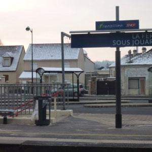 Petit Morin : DEPART : gare de la Ferté sous Jouarre - Au Bout des Pieds