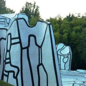 Ceinture verte d'Ile de France : Fondation Dubuffet - Au Bout des Pieds