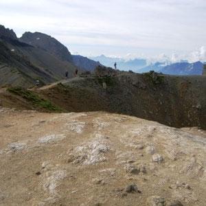 SkyRace : près du col du Galibier - AU BOUT DES PIEDS